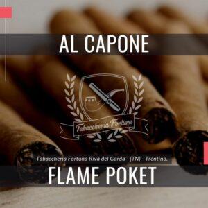 Al Capone Flame Poket Gli amanti di sigari apprezzano i Cigarillos con filtro a fiamma con tasche Al Capone al gusto di cognac