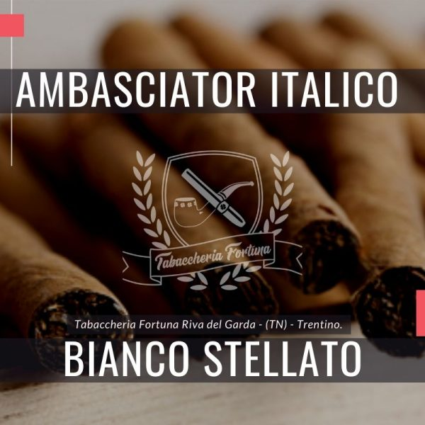 Ambasciator Italico Bianco Stellato La fumata di questo sigaro risulta gradevole, frutto della felice combinazione tra le note delicate e fresche dell'anice