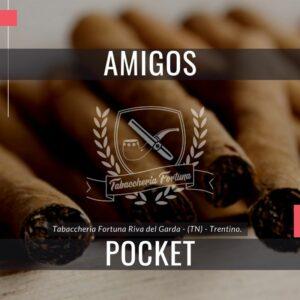 AMIGOSPOCKET Un sigaretto giovane per i giovani, nel pratico pacchetto da sigarette.