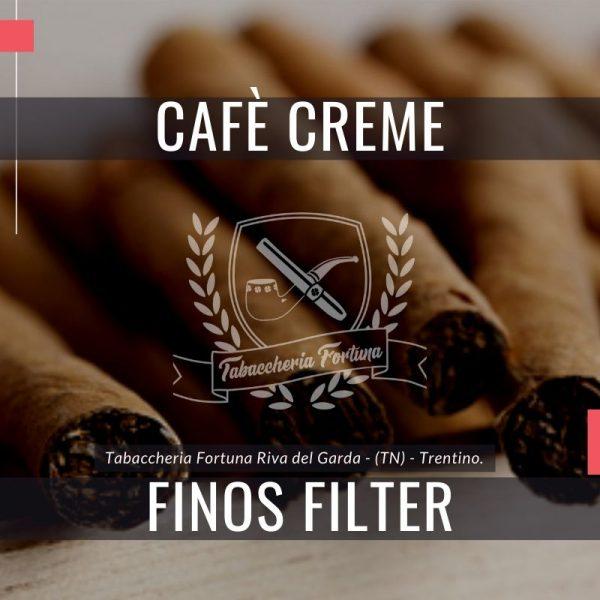 Henri Wintermans Café Crème Finos Filter. I sigaretti in miniatura blu sono realizzati con una miscela di tabacchi di Giava, Brasile, Colombia e Repubblica Dominicana