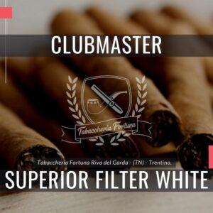I piacevoli sigaretti di marca Clubmaster Superior White con filtro sono short-machine realizzati a macchina.