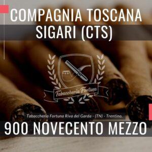 TORNABUONI 900 MEZZO Il Sigaro artigianale realizzato seguendo la migliore tradizione toscana...
