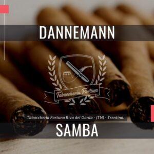 I Cigarillos Dannemann Samba Filter bilanciati offrono un contenuto moderato di nicotina, un aroma dolciastro e un piacevole piacere di fumare.