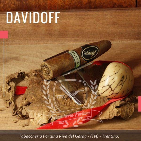Davidoff Escurio Gran TORPEDO Ispirato dall'anima del Brasile, mescolato con i tabacchi brasiliani Cubra e Mata Fina