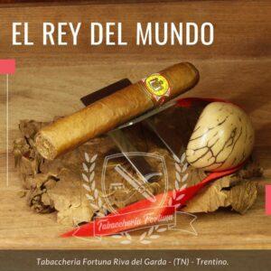 El Rey del Mundo Choix Supreme Sigaro all'apparenza molto bello, fascia colorado senza imperfezioni o carenze nel riempimento.