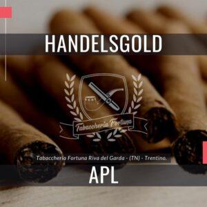 Handelsgold apl, un classico moderno Il marchio è stato continuamente sviluppato per adattarsi alla domanda dei fumatori di sigari contemporanei.