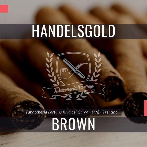 Handelsgold Brown, un classico moderno Il marchio è stato continuamente sviluppato per adattarsi alla domanda dei fumatori di sigari contemporanei.