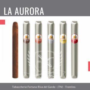LA AURORA Principes Chicos Un aristocratico ed autentico piccolo sigaro, capolavoro di cui ne percepisco la qualità fin dall'accensione dove le fragranze animali di pelle