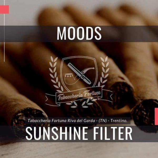 I simpatici sigaretti di marca Dannemann Moods Sunshine con filtro aromatizzato sono congelatori realizzati a macchina.