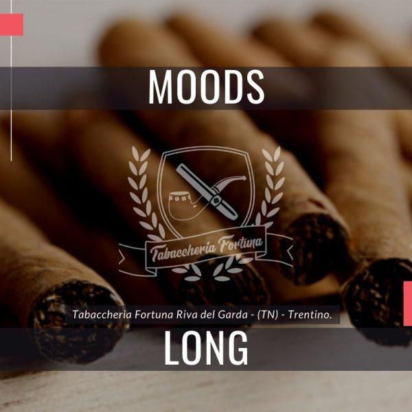 I collaudati marchi Cigarillos Moods Long sono fabbricanti di congelatori fatti al 100% di tabacco.