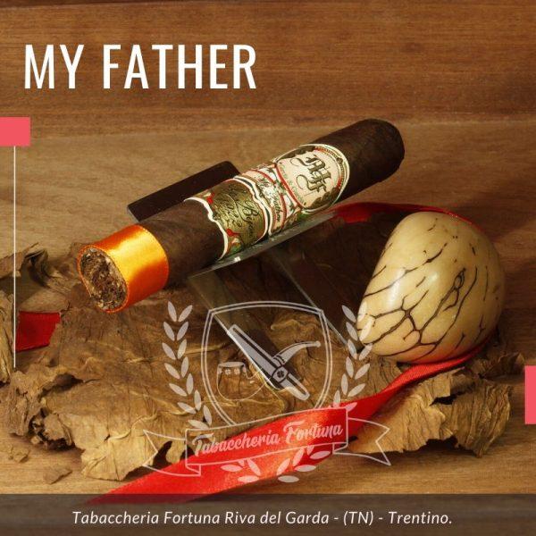 MY FATHER LE BIJOU Come molti sapranno, o se non lo sapete lo potete leggere adesso, la linea My Father fu ideata e sviluppata nel blend da Jaime García