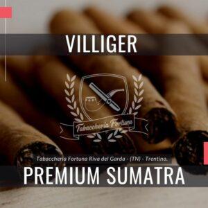 Villiger Premium Sumatra. Un sigaro delicato prodotto da una selezionata miscela di tabacchi dell'Avana e del Brasile