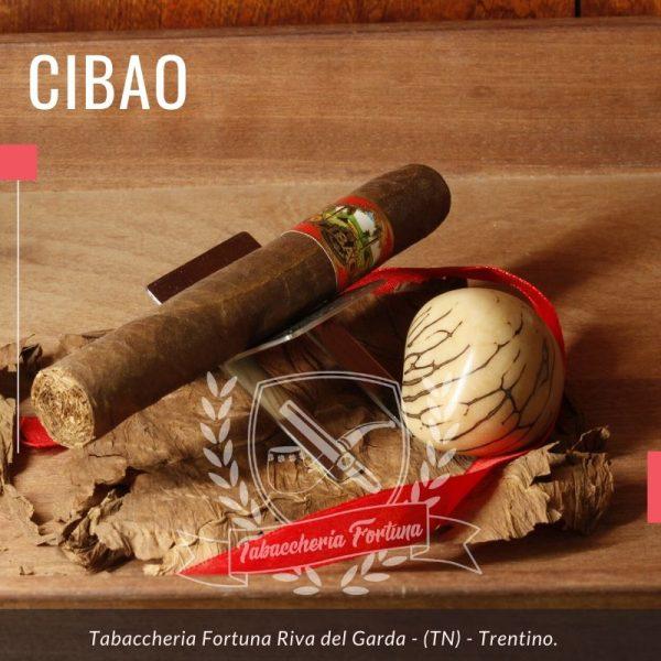 Cibao Toro. I sigari Cibao sono fatti a mano nella Repubblica Dominicana da Jose '(Jochi) Blanco.
