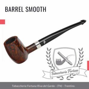 Come suggerisce il nome Barrel Smooth, questa è una forma a botte sottile con una ciotola a fondo piatto per una maggiore comodità.