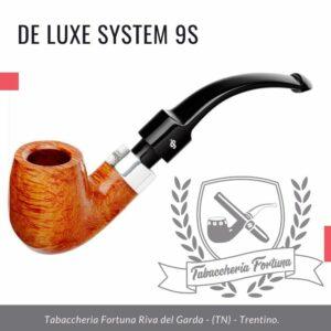 DELUXE SYSTEM 9S, PETERSON-LIP Pipa tabaccheria Fortuna riva del garda