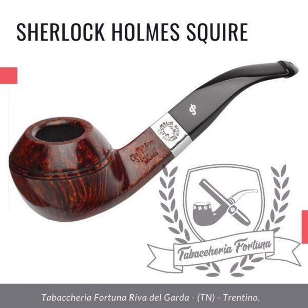 SHERLOCK HOLMES SQUIRE PIPA PETERSON in vendita presso tabaccheria Fortuna di Riva del Garda