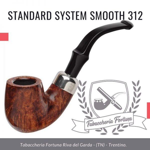STANDARD SYSTEM SMOOTH 312 - Pipe Peterson in vendita a Riva del Garda