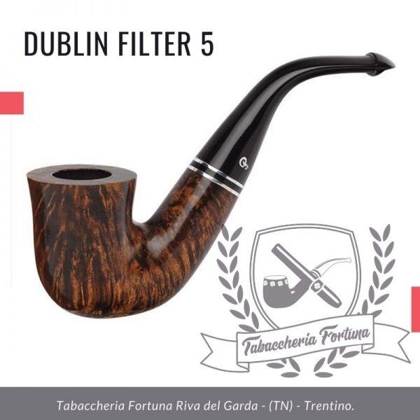Dublin Filter 5 Peterson Lip. Stalwart del portfolio Peterson, la forma 05 è una bellissima forma da calabash