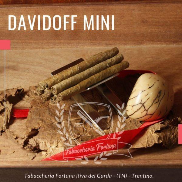 Davidoff Mini Cigarillos Gold. Tutti i sigari Davidoff sono realizzati a mano nella Repubblica Dominicana