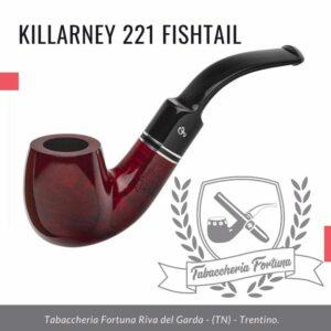 Killarney 221 Fishtail. Un elegante biliardo piegato con un robusto gambo fa risaltare questa forma leggera.