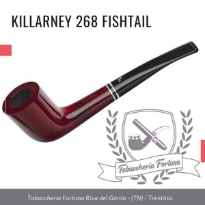 Killarney 268 Fishtail. Elegante forma Peterson, la 268 offre comfort e uno stile unico.