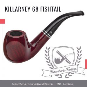 Killarney 68 Fishtail. Una forma robusta che offre una grande camera per fumatori pur rimanendo leggera da tenere.
